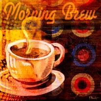 Coffee Break I mural