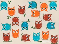 Owls mural