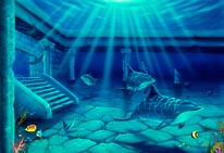 Atlantis mural