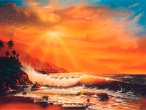 Majestic Maui mural