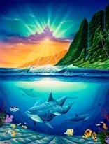 Tropical Dream mural