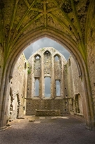 The Ruins of Hore Abbey, Ireland mural