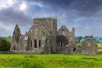 The Ruins of Hore Abbey, Ireland 2 mural