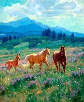 Wild in Bloom mural