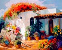 Honeymoon Casita mural