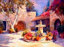 La Fuente mural