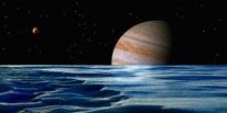 Jupiter From Ganymede mural