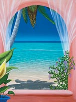 Caribbean Breeze mural