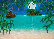 Pirates Lair mural